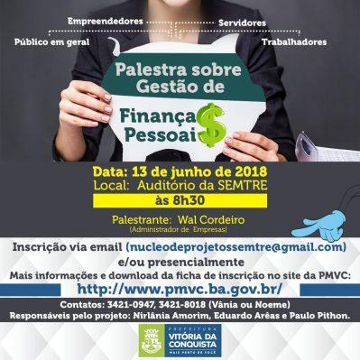 Prefeitura promove palestra sobre gestão de finanças pessoais ... 2745856186462