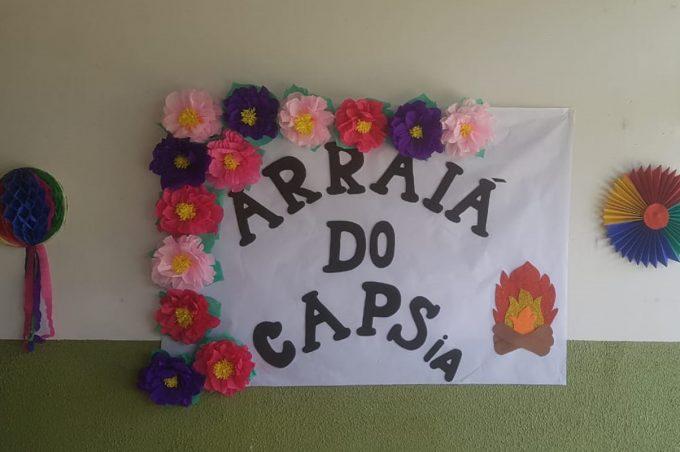 O São João já passou no Caps IA e fez a festa das crianças, adolescentes e familiares