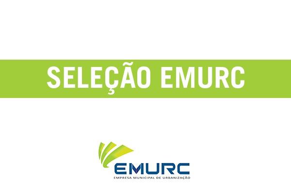 Seleção 003/2019 da Emurc: 5ª convocação é divulgada