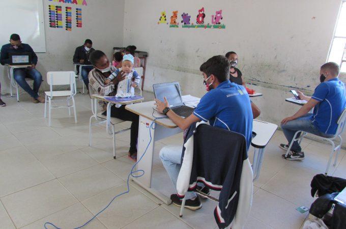 Comunidade do Boqueirão recebe equipe da Assistência Social da Prefeitura