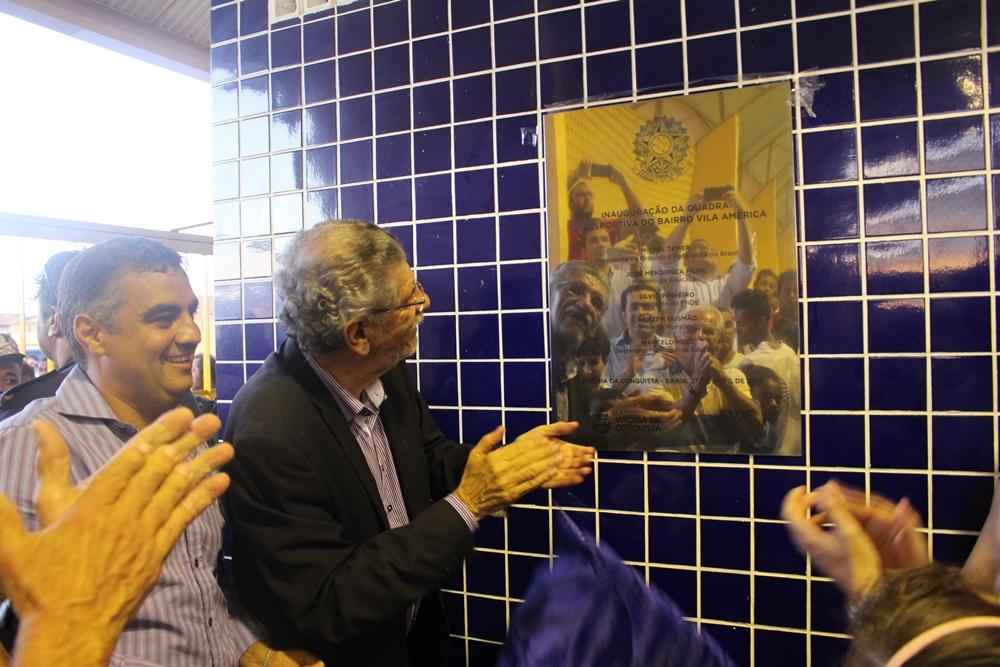 fd56efd53ba O prefeito Herzem Gusmão agradeceu a parceria com o Ministério da Educação  e aproveitou a oportunidade para anunciar que estará encaminhando projetos  ao ...