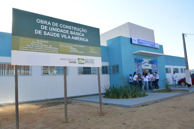 Prefeitura Municipal inaugura unidade de saúde do Vila América