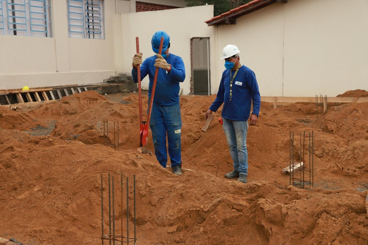 Maio Laranja: Obras do Complexo de Escuta Protegida avançam ...