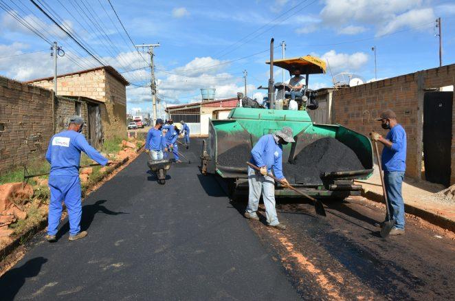 Conjunto da Vitória: serviços de pavimentação e drenagem estão em fase final