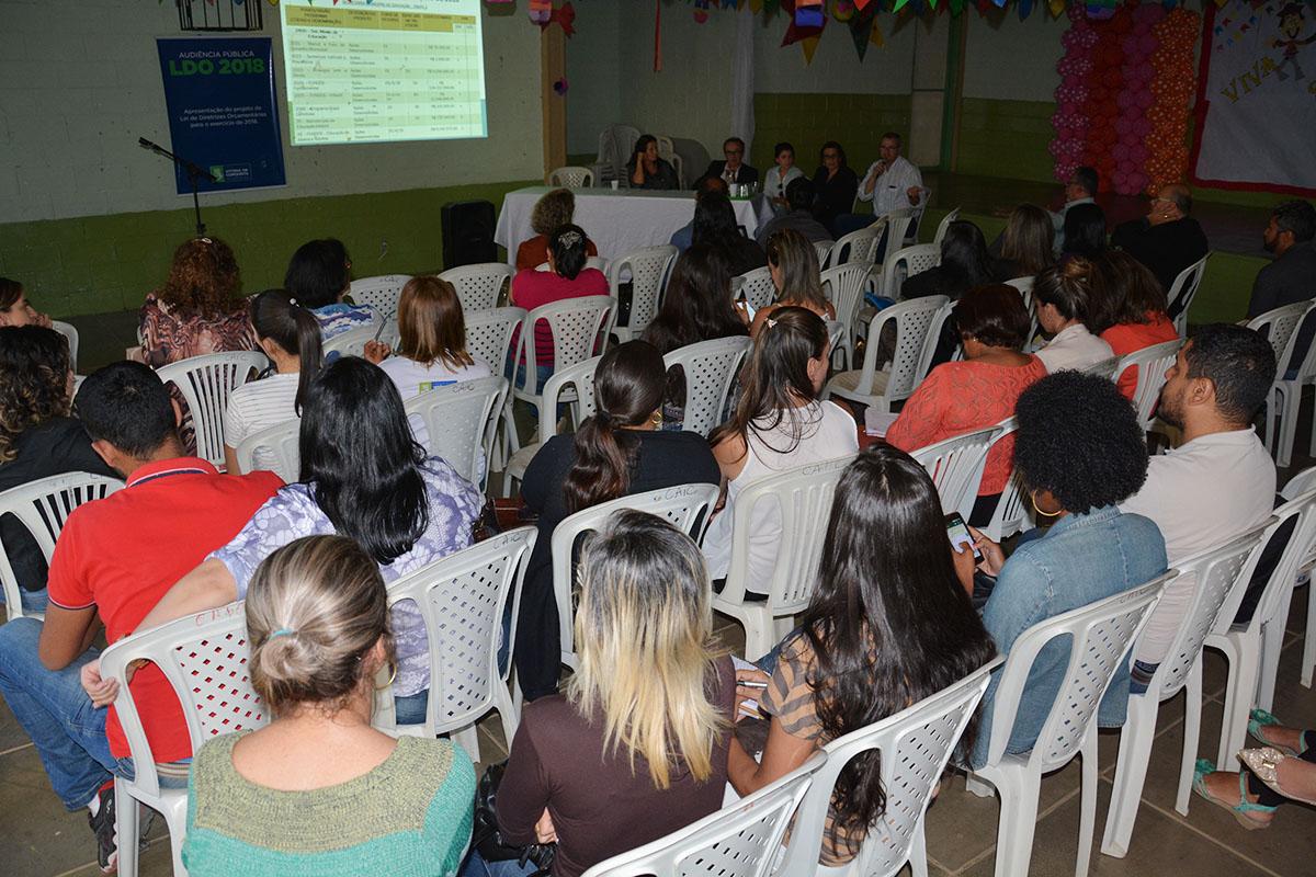 Governo e comunidade se reúnem para construção coletiva da LDO