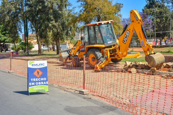 Prefeitura inicia revitalização da Praça Nossa Senhora dos Verdes, a terceira em reforma na Zona Oeste