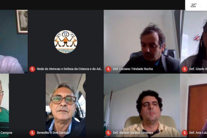 Prefeitura realiza reunião virtual com o Defensor Público Geral do Estado da Bahia