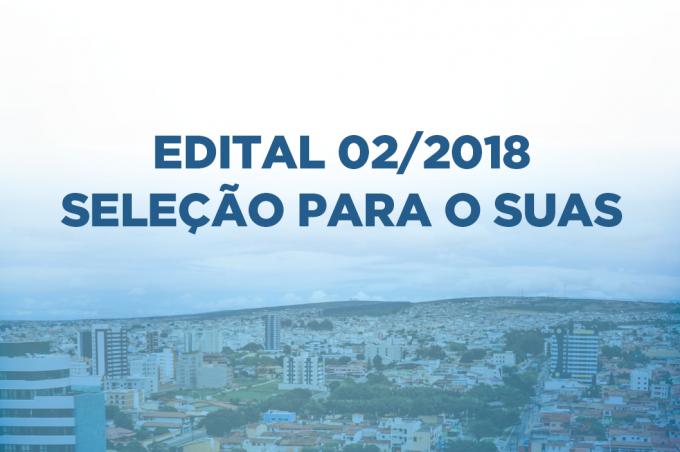 Prefeitura convoca mais 39 selecionados do Edital 02/2018