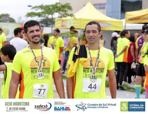 Ivan Bie e Edilson Silva  servidores municipais e atletas amadores b270a4ef650e2