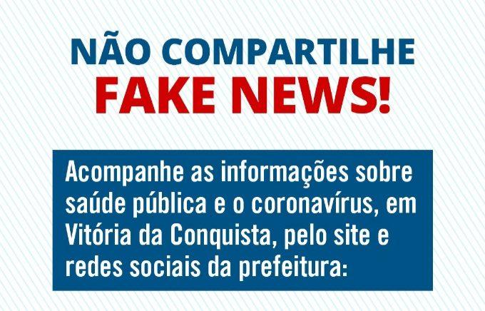 Novo Coronavírus: Cuidado com as Fake News!