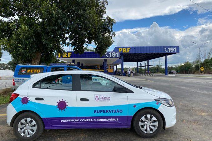 Prefeitura, ANTT e PRF apreendem ônibus clandestinos em Vitória da Conquista