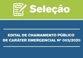Chamamento Emergencial 03/2020