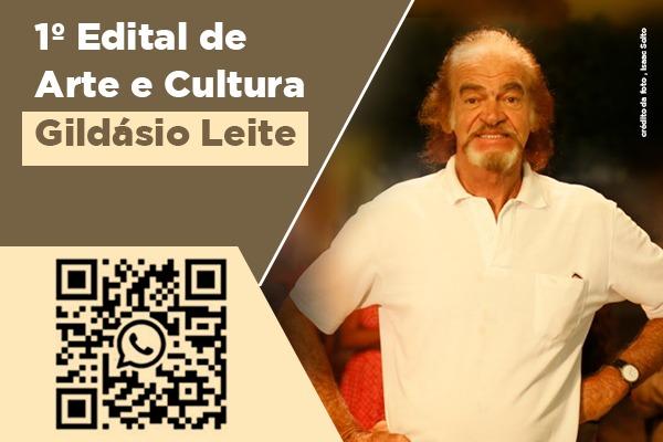 I Edital de Arte e Cultura Gildásio Leite