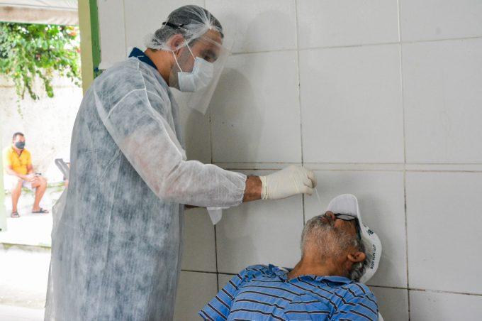 Saúde inicia teste de antígeno para Covid-19 na zona rural