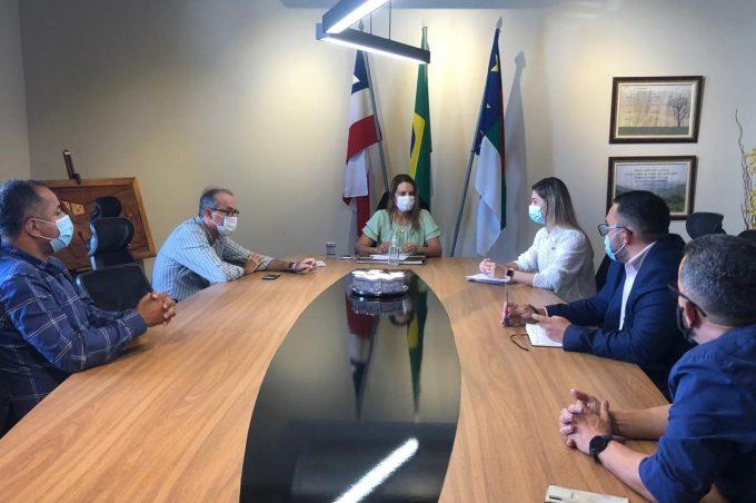 Prefeita em exercício se reúne com Comitê de Gestão de Crise para discutir metas para o enfrentamento da pandemia
