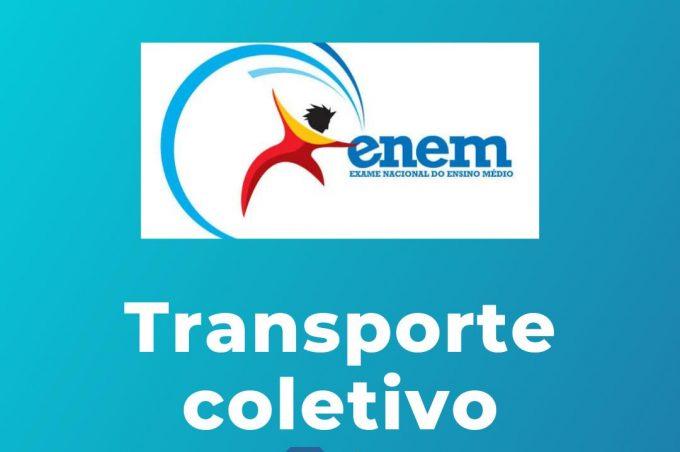 Enem: transporte coletivo tem alteração de horários neste domingo (24)