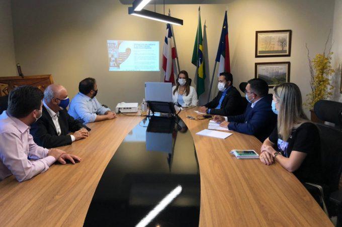 Prefeita Sheila, ACM Neto e lideranças estaduais discutem gestão pública em encontro virtual