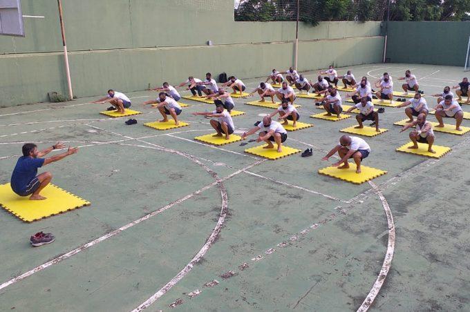 Guarda Municipal retoma aulas de formação com todos os protocolos de segurança contra Covid-19