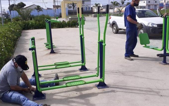 Prefeitura realiza manutenção de equipamentos da Norberto Aurich