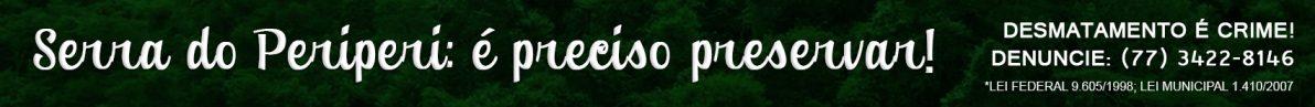 Banner serra do periperi