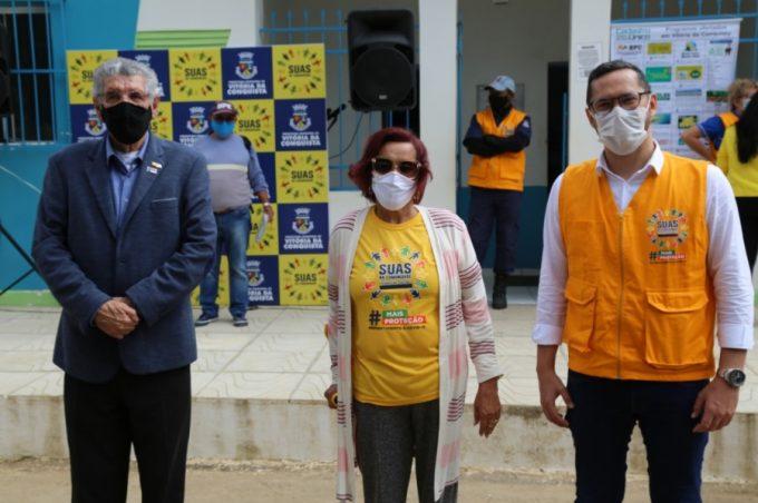 Projeto SUAS na Comunidade garante proteção social da população durante a pandemia