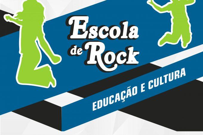 Educação e cultura: Prefeitura realiza projeto Escola de Rock