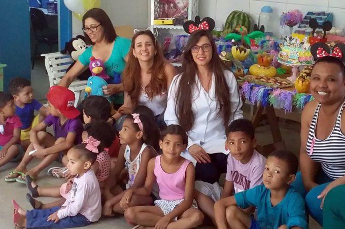 Semana da Criança é celebrada pela Secretaria Municipal de Saúde
