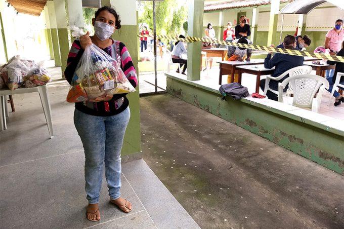 Distribuição de kits da Alimentação Escolar na área rural será concluída ainda nesta semana