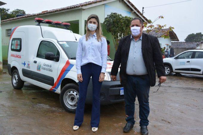 Prefeitura entrega ambulância para o distrito de Cabeceira da Jiboia