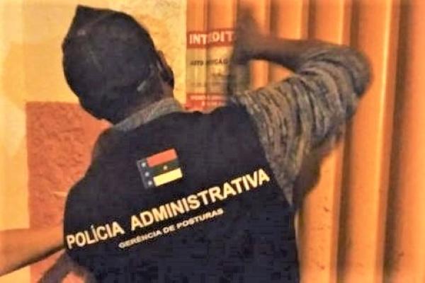Prefeitura notifica e interdita estabelecimentos por descumprirem medidas restritivas