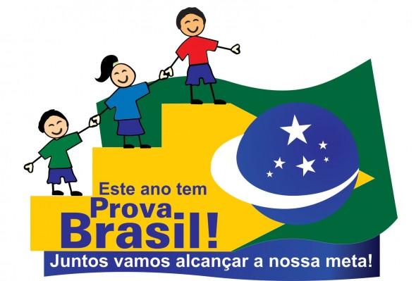 logo prova brasil prefeitura municipal de vit243ria da