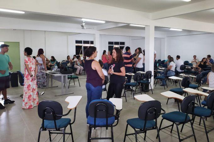 Oficina com trabalhadores da saúde celebra o Janeiro Branco em Vitoria da Conquista