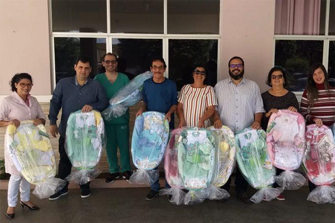 Parceria entre Esaú e maçonaria resulta na doação de mais de 250 kits para bebês