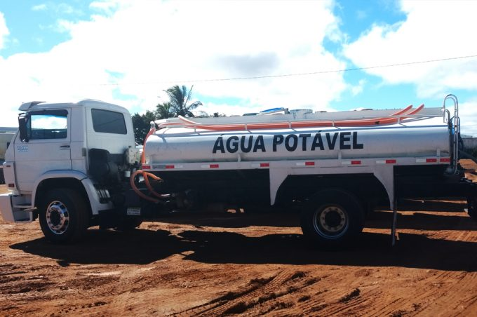 Divulgado prazo para inspeção sanitária dos caminhões-pipa