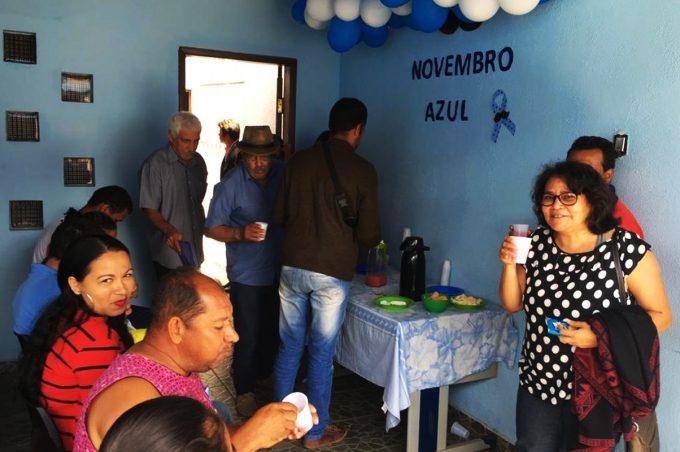 Novembro Azul é tema de ação no Ambulatório de Saúde Mental