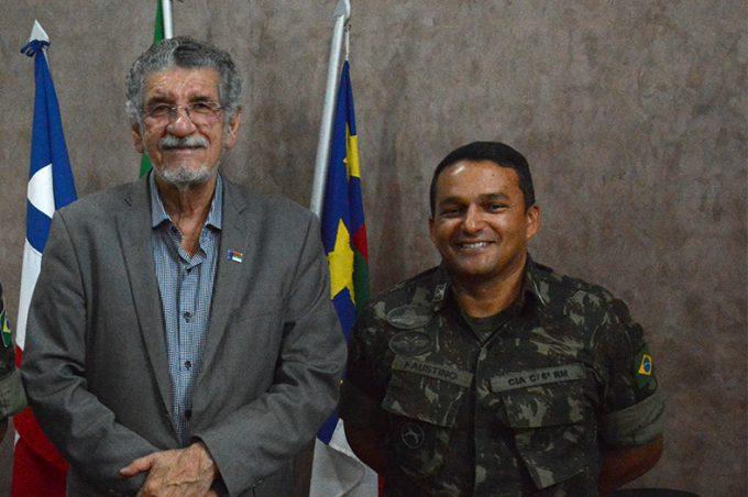 Governo Municipal parabeniza comandante do Tiro de Guerra por promoção